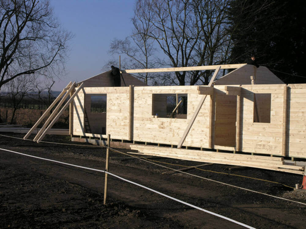 Wooden Mobile Homes 1 Timberlogbuild Ltd