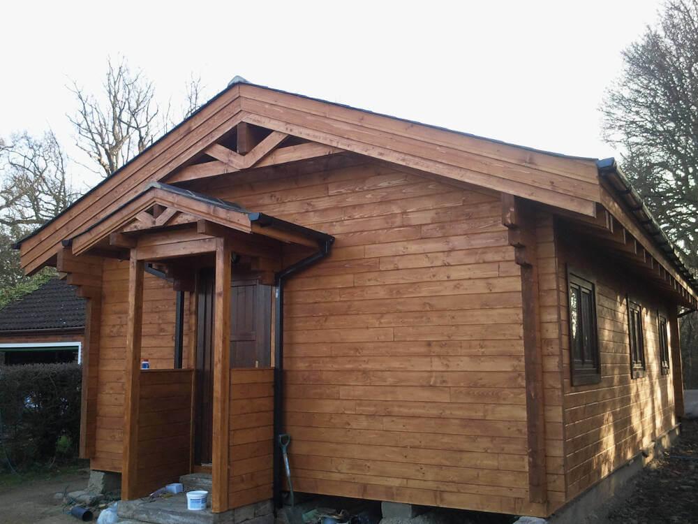 Wooden Mobile Homes 4 Timberlogbuild Ltd