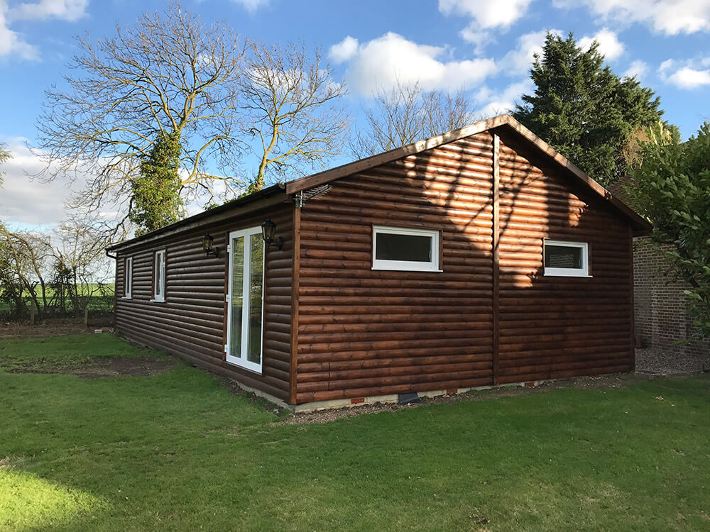 Wooden Mobile Homes In Kent By Timberlogbuild