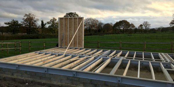 Timber Frame House (1)