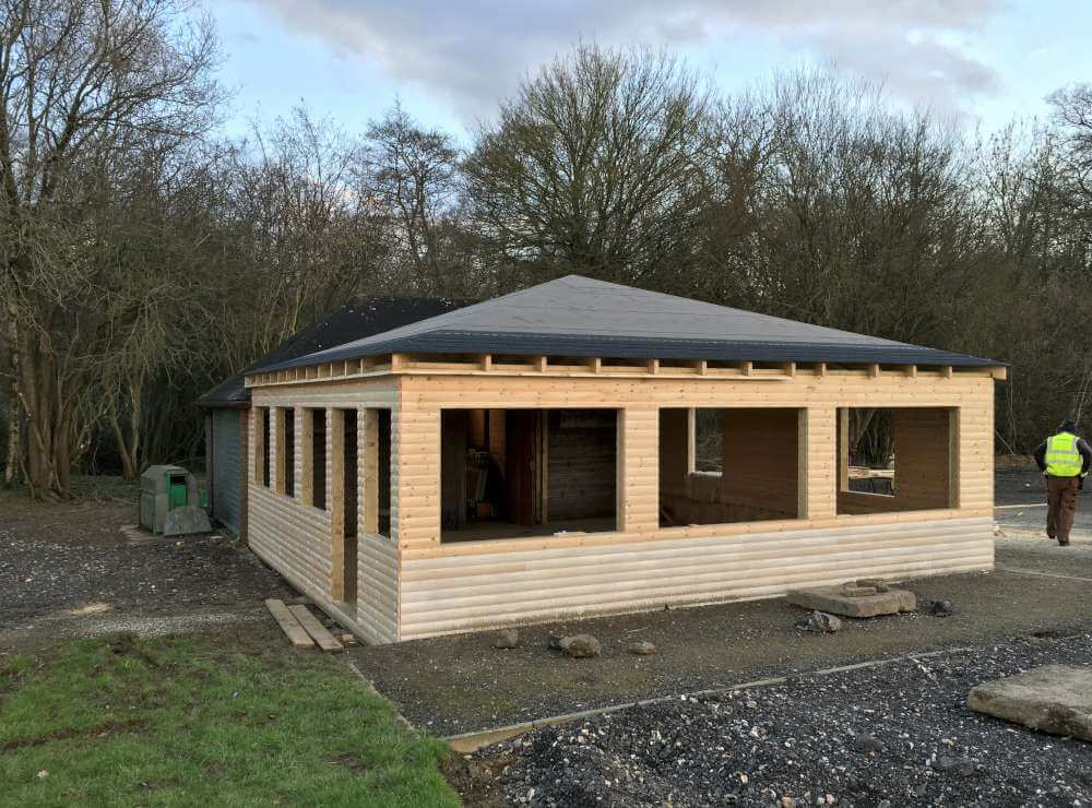 Wooden club house archives timberlogbuild ltd for Build your home