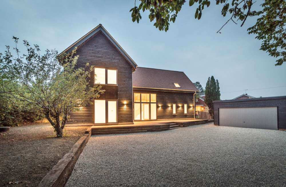 Timber House Paddock House Timberlogbuild Ltd