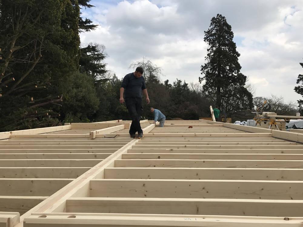 Timber frame Contractors in Kent, Timberlogbuild (2)
