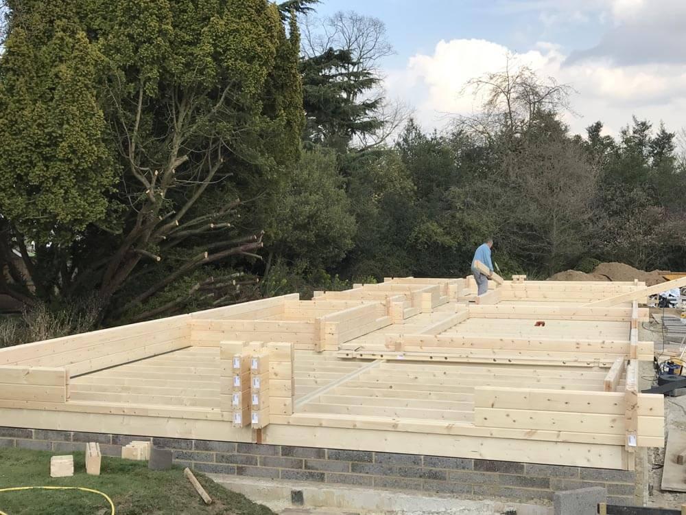 Timber frame Contractors in Kent, Timberlogbuild (3)