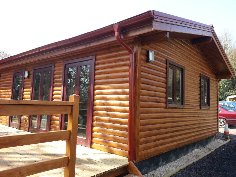 Log cabin 1 timberlogbuild ltd for Log cabins to build