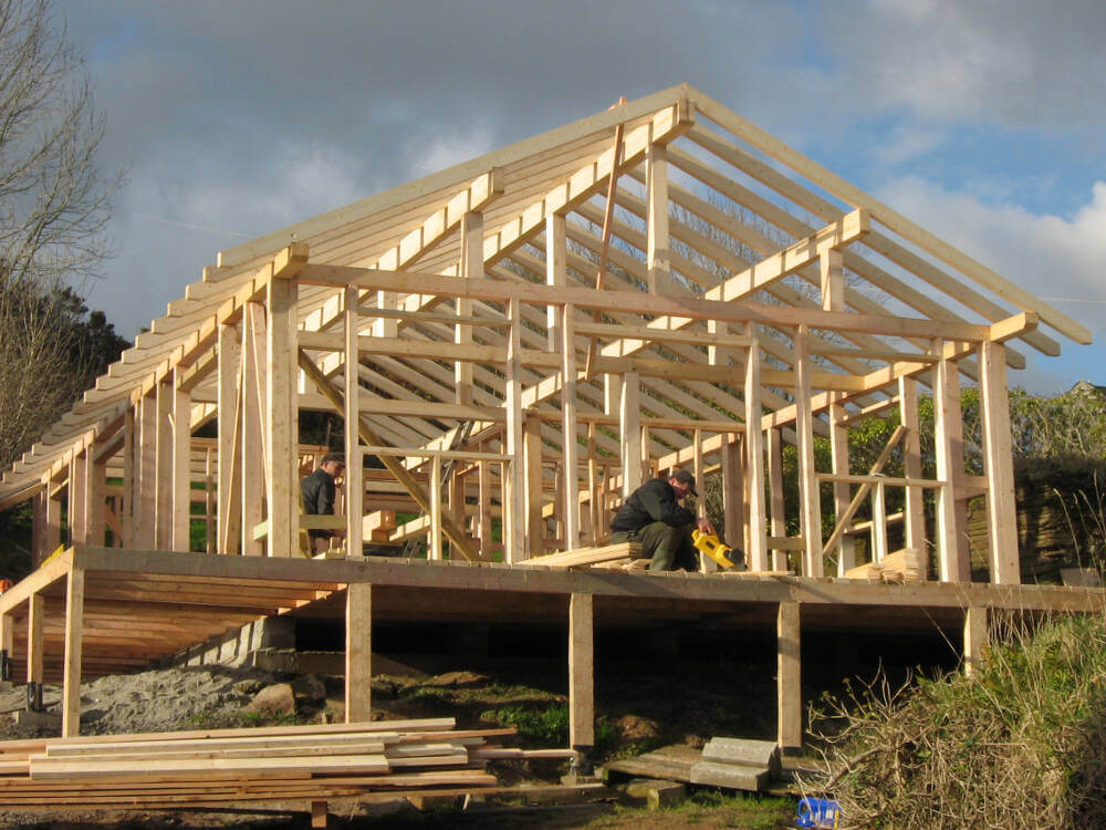 Timber frame homes 3 timberlogbuild ltd A frame builders