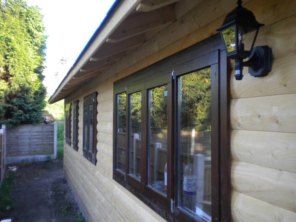 Wooden Garden Office Timberlogbuild Ltd