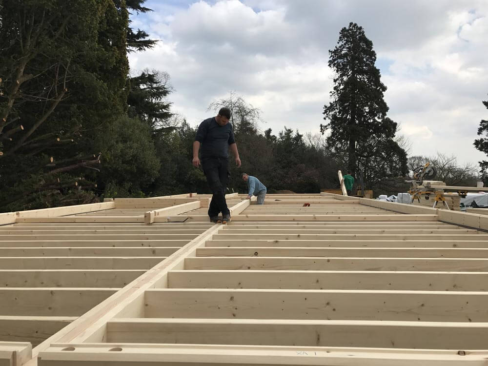 Timber frame Contractors in Kent, Timberlogbuild (2)