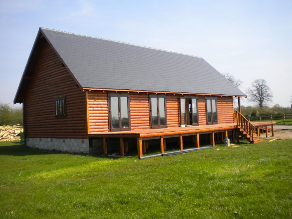Beautiful timber frame homes built by Timberlogbuild LTD
