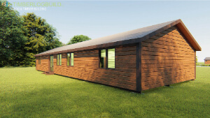 Timberlogbuild 136 (3 BED FULL SIZE ENSUITE) (2)