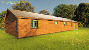 Timberlogbuild 136 (3 BED FULL SIZE ENSUITE) (6)