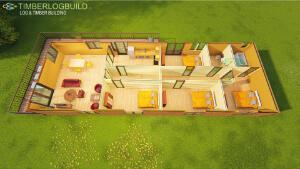 Timberlogbuild 136 4 BED (2)