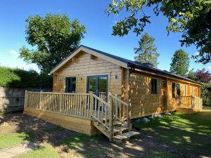 Artichouse Laminated logs 88mm +thermowall Mobile Home Annex (2)