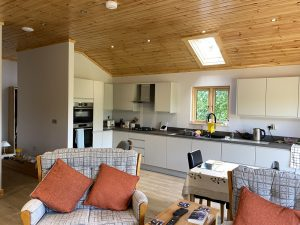 Artichouse Laminated logs 88mm +thermowall Mobile Home Annex (4)